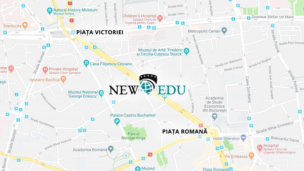 Harta locatie NEW EDU